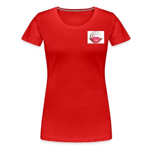 Red Lips - Women's Premium T-Shirt