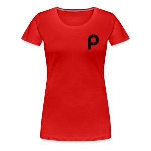 The 'P' - Women's Premium T-Shirt