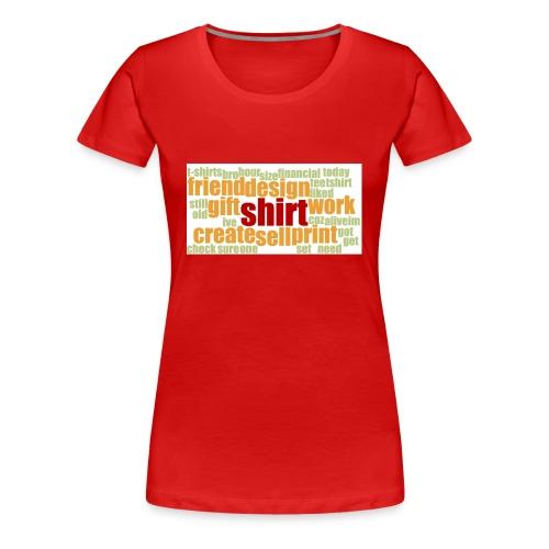 HotjarHomepagePoll2015 - Women's Premium T-Shirt