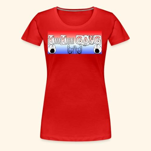 kuukuu gang - Women's Premium T-Shirt