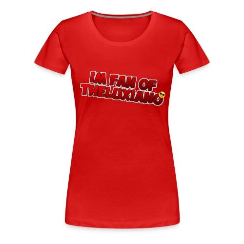 I'm Fan of TheLuxiano - Women's Premium T-Shirt