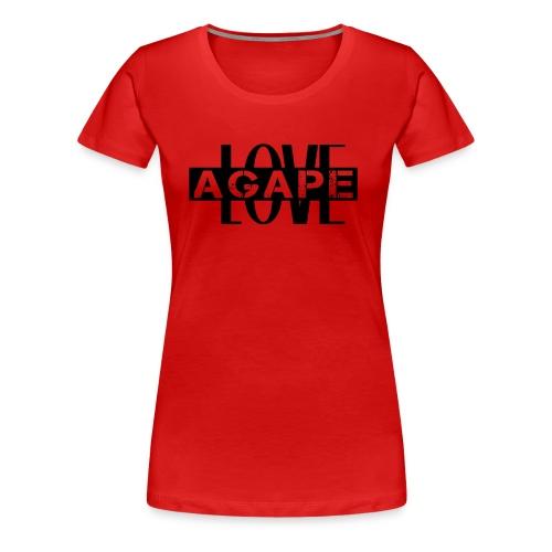 Agape LOVE - Women's Premium T-Shirt
