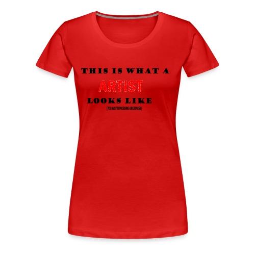 Art tee - Women's Premium T-Shirt