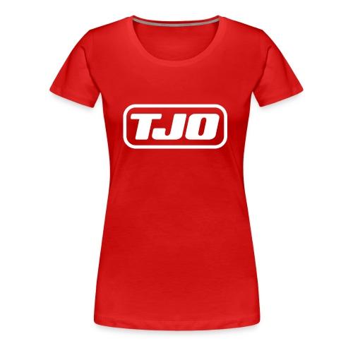 TJO official white - Women's Premium T-Shirt