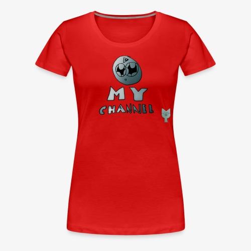 My Channel Cute - Women's Premium T-Shirt