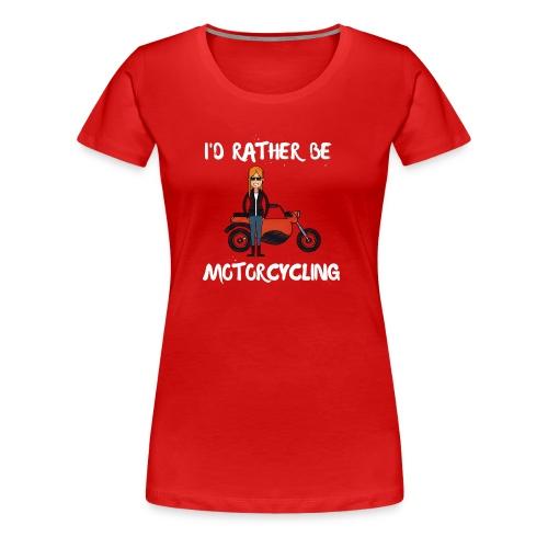 Motorbike - Women's Premium T-Shirt