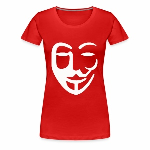 Anonymous - Women's Premium T-Shirt