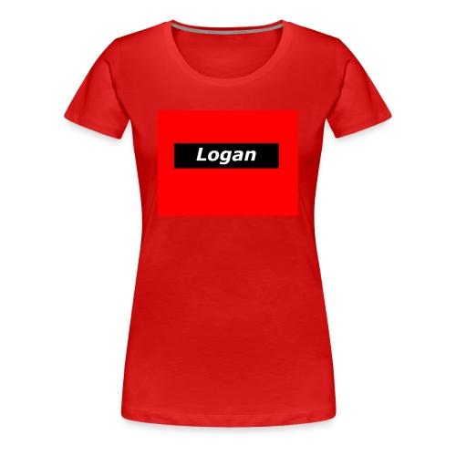 LoganRed Original - Women's Premium T-Shirt