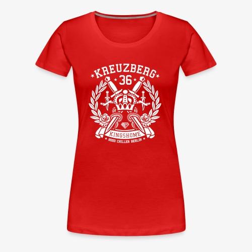 Kreuzberg 36 Krone - Hood Chiller Berlin - Women's Premium T-Shirt