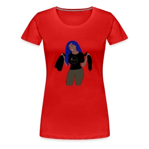 JeiDior Illustration - Women's Premium T-Shirt