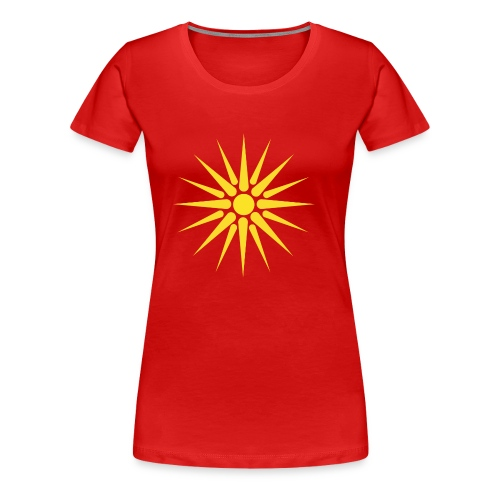MACEDONIA - Women's Premium T-Shirt