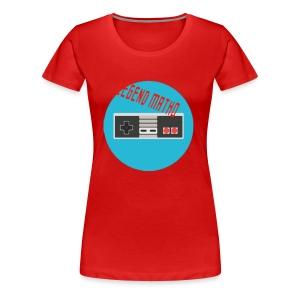 Legend Matho RETRO logo! - Women's Premium T-Shirt