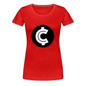 Crypto Coin RIch Logo - Women's Premium T-Shirt