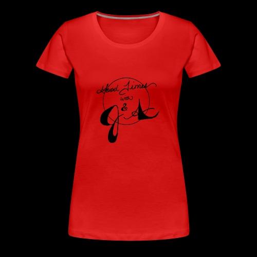 Good Times LOGO - Women's Premium T-Shirt