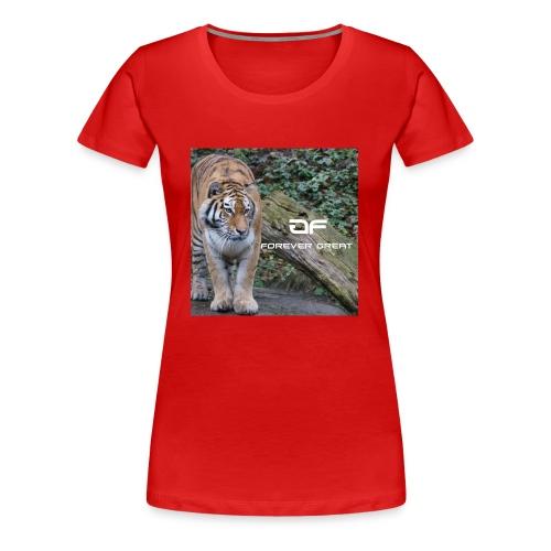 Forever Great tiger design - Women's Premium T-Shirt
