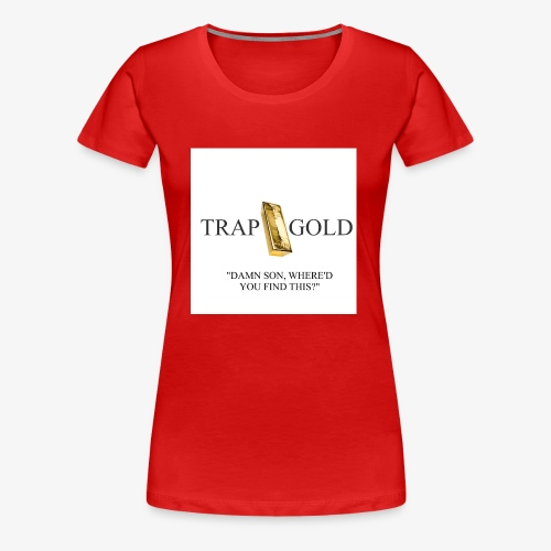 trap gold logo - Women's Premium T-Shirt