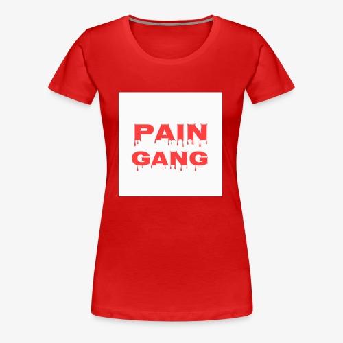 pain gang - Women's Premium T-Shirt