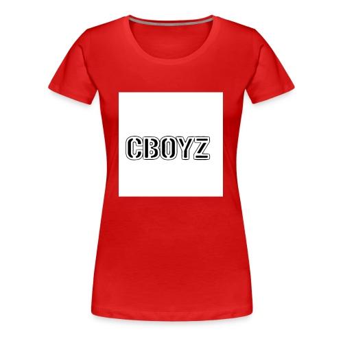 C Boyz logo - Women's Premium T-Shirt