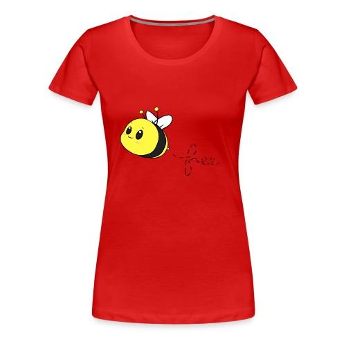 bee free - Women's Premium T-Shirt