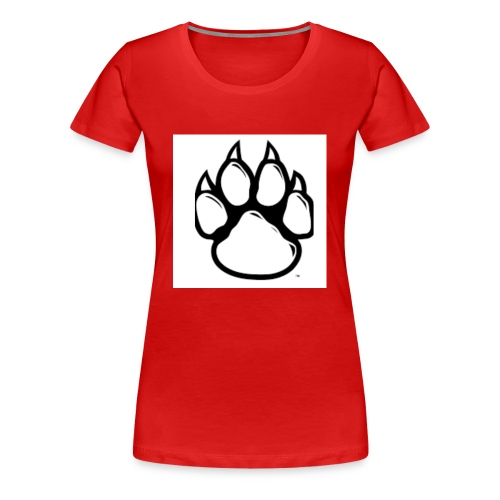 Panther Paw - Women's Premium T-Shirt