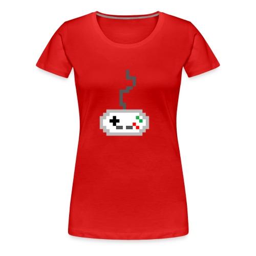 Pixel Controller - Women's Premium T-Shirt
