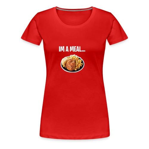 im a meal - Women's Premium T-Shirt