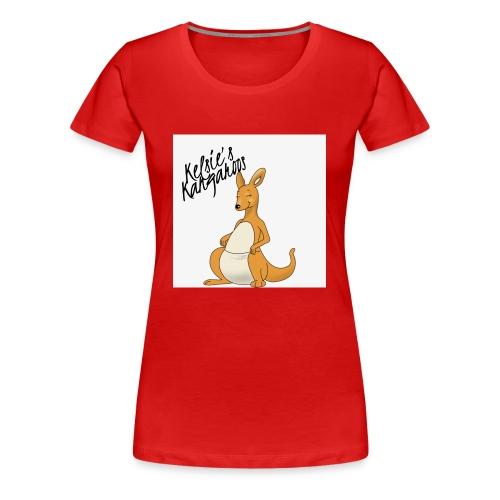 Kelsie's Kangaroos - Women's Premium T-Shirt