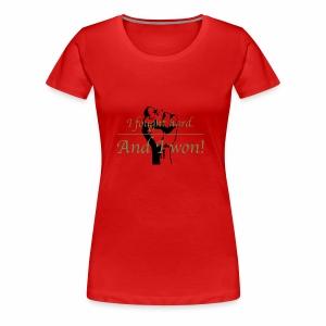 I Won! - Women's Premium T-Shirt