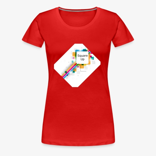 Square Up - Women's Premium T-Shirt