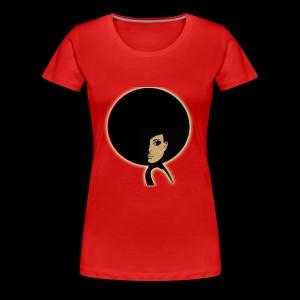 Half Fro - Women's Premium T-Shirt