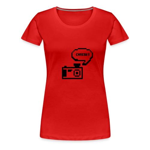 Retro Cam- Cheese - Women's Premium T-Shirt
