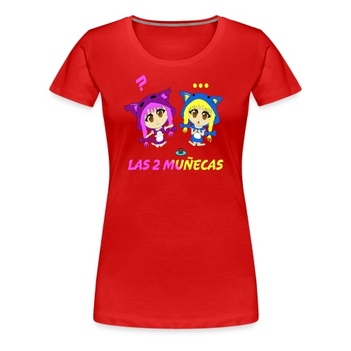 Nellita eats oreos - Women's Premium T-Shirt