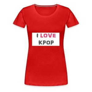 love kpop - Women's Premium T-Shirt