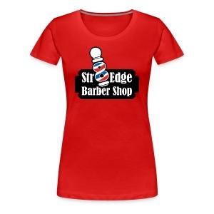Str8 Edge Logo - Women's Premium T-Shirt