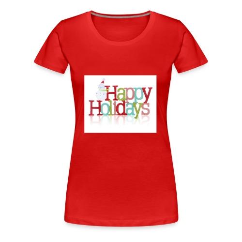 Happy Holidays - Women's Premium T-Shirt