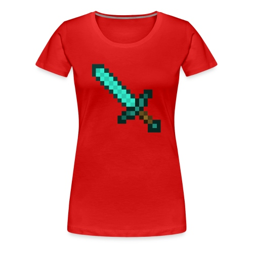 Official Diamond Sword Merch - Women's Premium T-Shirt