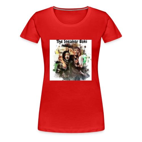 THE SNEAKER BOKI w/ Durk LOGO - Women's Premium T-Shirt