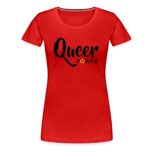 Queer Power T-Shirt 04 - Women's Premium T-Shirt