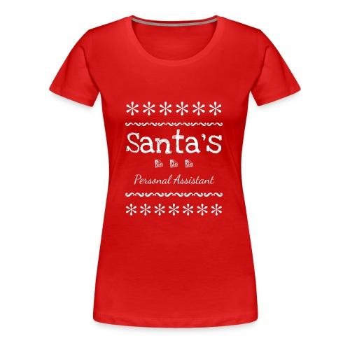 Santas Personal Assistant - Women's Premium T-Shirt