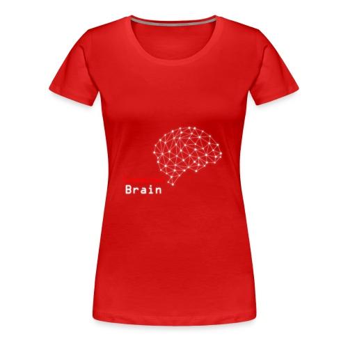 Connected Brain - Women's Premium T-Shirt