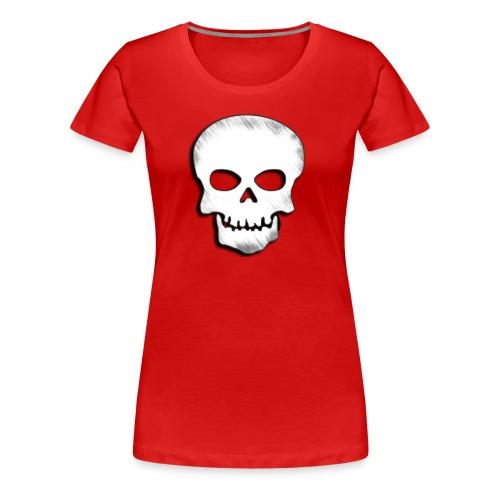 Skull Zone Logo - Women's Premium T-Shirt
