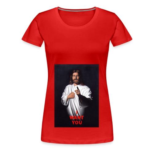 I Want You - Women's Premium T-Shirt