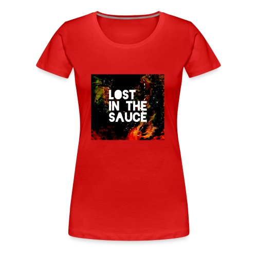 Lost in the Sauce - Women's Premium T-Shirt
