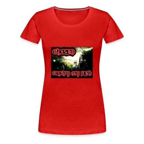 Crucify my flesh - Women's Premium T-Shirt