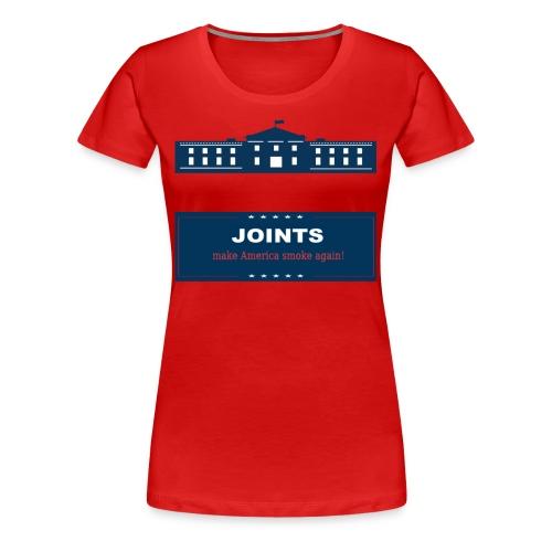 Make America Smoke Again - Women's Premium T-Shirt