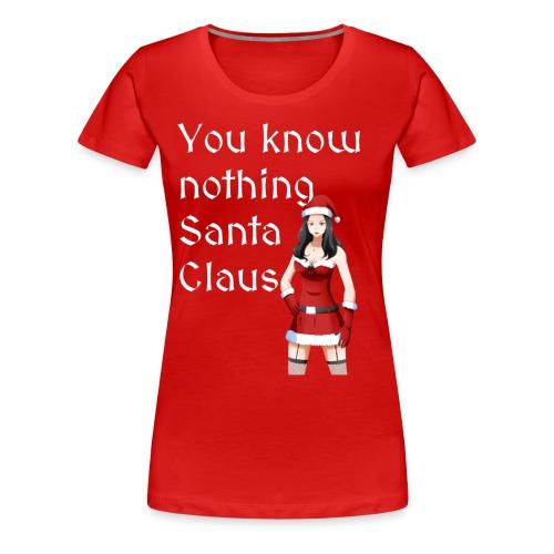 Sexy Mrs. Claus - Women's Premium T-Shirt
