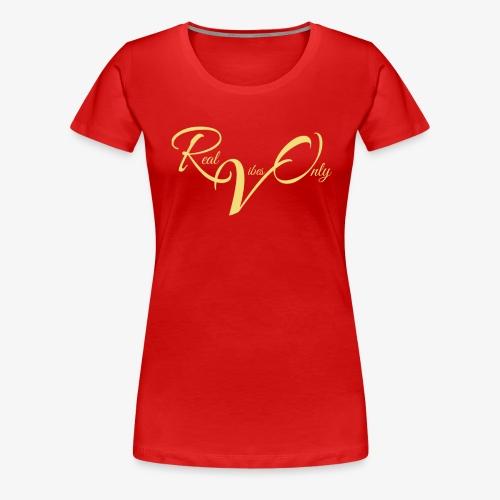 RealVibesOnly001 - Women's Premium T-Shirt