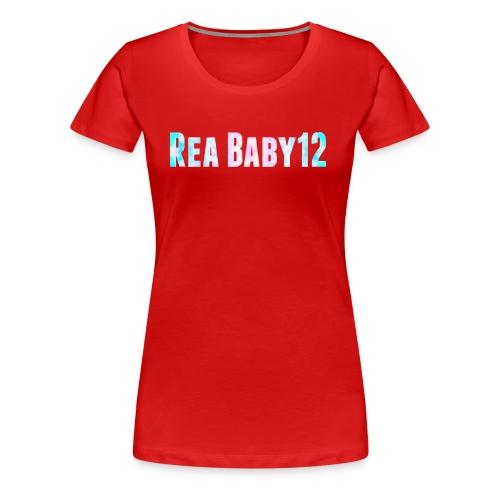 Rea Baby12 YouTube Channel Name - Women's Premium T-Shirt