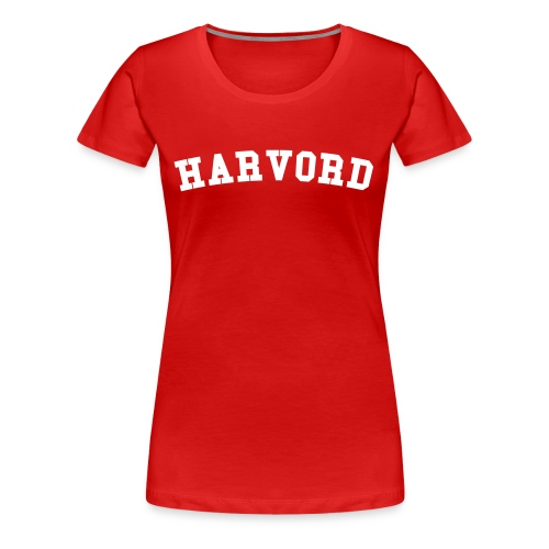 Harvord - Women's Premium T-Shirt