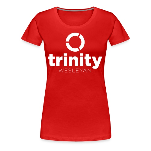 Trinity Centered white - Women's Premium T-Shirt